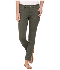 Jag Jeans Erin Cuffed Slim Ankle In Fatigue Fatigue Women's Jeans Green