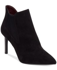 Bcbgeneration Getaway Pointed Toe Booties Women's Shoes Black