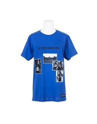 Les Artists T Shirt The Youth Always Wins Blue