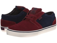 Circa Hesh Tawny Port Dress Blue Men's Skate Shoes Red