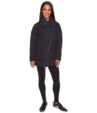 Lucy Insulated Long Hatha Jacket Black Women's Coat