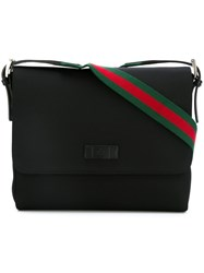 Gucci 'Techno' Messenger Bag Black