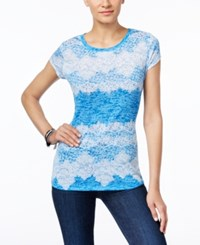 Inc International Concepts Lace Print T Shirt Only At Macy's Venetian Lace