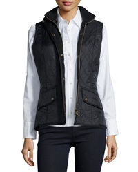 Barbour Cavalry Polar Diamond Quilted Fleece Lined Gilet Vest