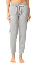 Pj Salvage Sleep Joggers Heather Grey