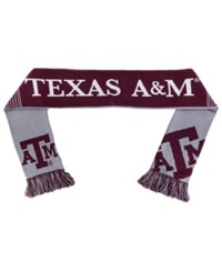 Forever Collectibles Texas A And M Aggies Reversible Split Logo Scarf
