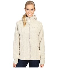 Jack Wolfskin Milton Jacket Light Sand Women's Coat Beige