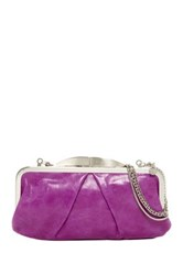 Hobo Hayward Leather Clutch Pink