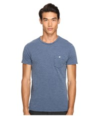 Todd Snyder Classic Pocket T Shirt Washed Royal Men's T Shirt Blue