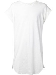 Lost And Found Rooms Lost And Found Rooms Crew Neck Long T Shirt White