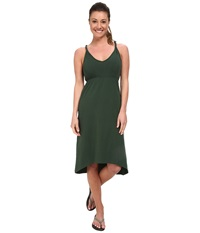 Kavu Ravenna Dress Hunter Green Women's Dress