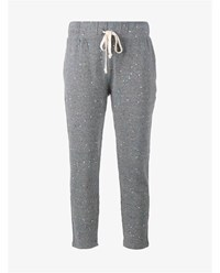 Current Elliott Jogging Trousers With Paint Splat Print Grey Multi Coloured White Denim Black