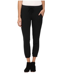 Alternative Apparel Eco Brushed Jersey Layover Pants Eco True Black Women's Casual Pants