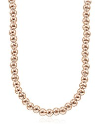 Lord And Taylor Rose Goldplated Beaded String Necklace