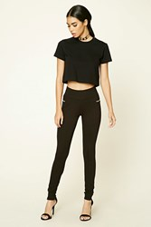 Forever 21 Zip Front Leggings