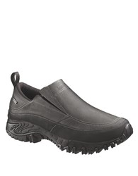 Merrell Leather Fleece Lined Loafers