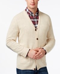 Tasso Elba Big And Tall V Neck Cardigan Only At Macy's Ewe Marl