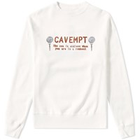Cav Empt Endless Crew Sweat White