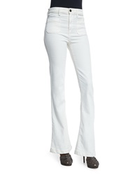 Joie Enchante Flare Jeans Winter White