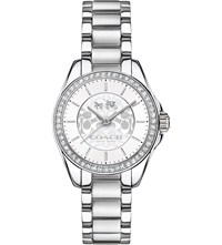 Coach 14502464 Tristan Stainless Steel Watch