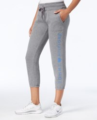Tommy Hilfiger Fleece Logo Sweatpants Only At Macy's Grey