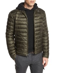 Ralph Lauren Roland Quilted Down Jacket Olive