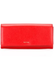 Paul Smith Snap Wallet Red
