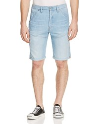 G Star G Star Raw 5620 Relaxed Fit Denim Shorts In Light Aged