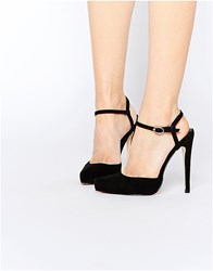Truffle Collection Alma Point Heeled Shoes Black Mf