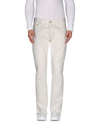 Care Label Trousers Casual Trousers Men Beige