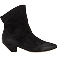 Slouchy Ankle Boots Black