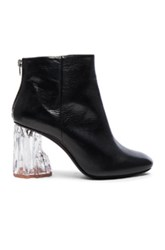 Acne Studios Ora Glass Booties In Black