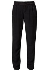 Khujo Wenny Trousers Dark Navy Blue