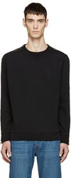 Diesel Black Zipper S Mart Sweatshirt