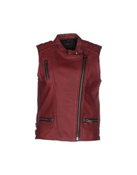 Maison Scotch Coats And Jackets Jackets Women Garnet