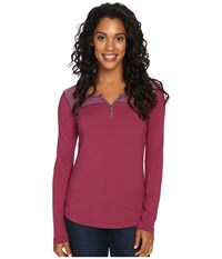 Kuhl Veloce Long Sleeve Top Ash Rose Women's Long Sleeve Pullover Pink