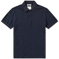 Valentino Rockstud Untitled Multi Stud Polo Blue