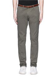 Scotch And Soda 'Stuart' Garment Dyed Slim Fit Chinos Green