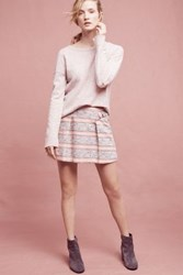 Anthropologie Elsie Mini Skirt Pink