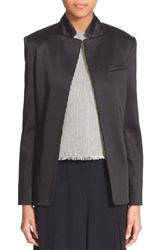 Alexander Wang Women's T By Stretch Satin Open Blazer