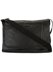 Emporio Armani Minimal Messenger Bag Black