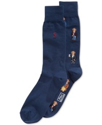 Polo Ralph Lauren Bear Trouser Socks 2 Pack