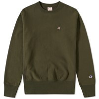 Champion Reverse Weave Classic Crew Sweat Green