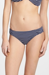 Tommy Bahama Stripe Bikini Bottoms Mare Navy