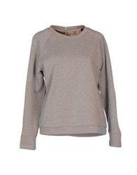 Golden Goose Sweatshirts Light Grey