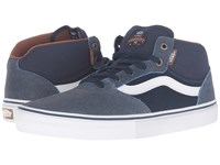 Vans Gilbert Crockett Pro Mid Xtuff Dress Blues Men's Skate Shoes