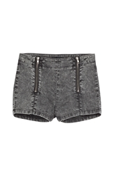 The Kooples Denim Shorts With Zippers