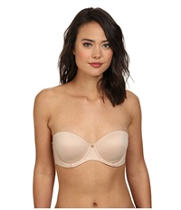 Betsey Johnson Forever Perfect Strapless 725800 Naked Women's Bra Beige