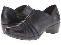 Romika Banja 04 Black Pitone Women's Clog Shoes