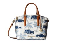 Brahmin Duxbury Satchel Blue Satchel Handbags